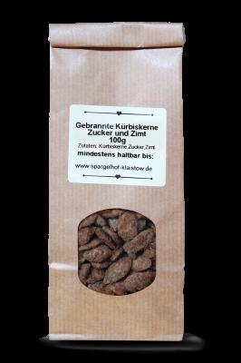 Gebrannte Kürbiskerne - Zimt & Zucker