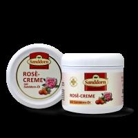Rosé-Creme mit Sanddorn-Öl