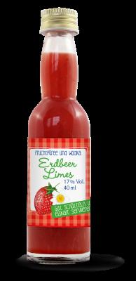 Mini Erdbeer Limes