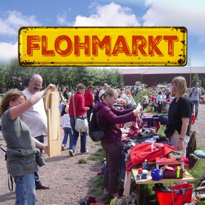 Flohmarkt Standplatz lfm: 24.10.2021