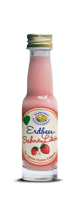 Mini Erdbeer-Sahne Likör