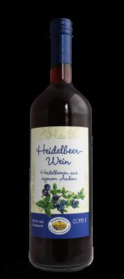 Heidelbeer Wein