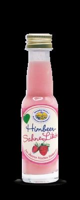 Mini Himbeer-Sahne Likör