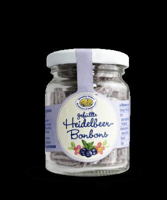 Gefüllte Heidelbeer-Bonbons