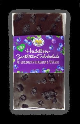 Heidelbeer-Zartbitter Schokolade